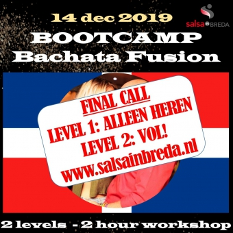 Bachata FUSION Bootcamp 3 LEVELS